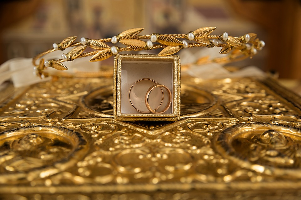 Courtesy of https://www.maxpixel.net/Ceremony-Orthodox-Wedding-Crowns-Gold-Rings-1848121